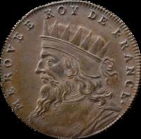 200px-Médaille_Roi_de_France_Mérovée