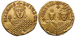 250px-Solidus-Basil_I_with_Constantine_and_Eudoxia-sb1703