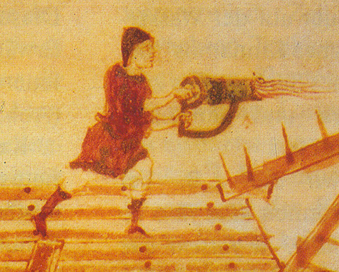 747px-Hand-siphon_for_Greek_fire,_medieval_illumination_(detail)