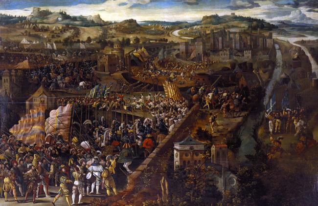 Battle_of_Pavia,_oil_on_panel