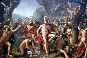 300px-Leonidas_aux_Thermopyles_(Jacques-Louis_David)