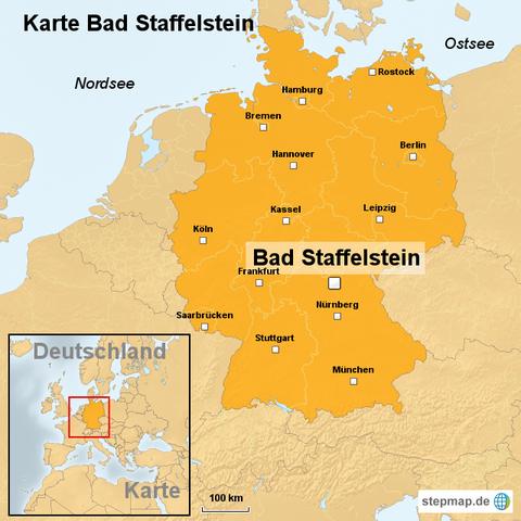 Karte Bad Staffelstein