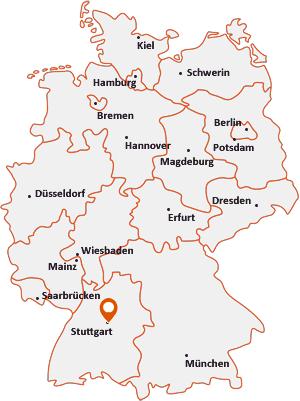 Stuttgart-Karte