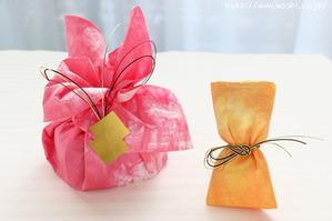 和紙のバレンタインラッピング! (2)