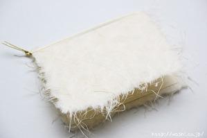 和紙のメッセージカード 結婚1周年(表紙)