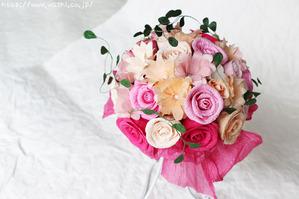紙婚式のプレゼント(Y様オリジナル和紙ブーケ・花束)