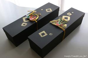 結婚式にご両親へのプレゼント(Y様結納水引リメイク品)収納ケース