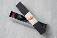 和紙の花 一輪の薔薇 (ラッピング)