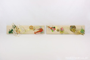 結婚披露宴のメインテーブル(高砂席)装飾としてご依頼頂いた、東京都M様の結納水引リメイクパネル(正面)