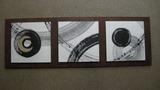 H様マグネット式、漆和紙アートパネル(位置替え)