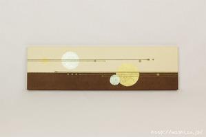 ツートンカラー(東京都N様の結納水引飾りリメイクパネル) (3)