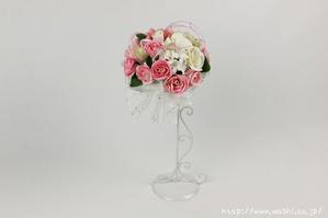 結婚1周年(紙婚式)のプレゼントにオススメの和紙ブーケ・花束(ピンク)