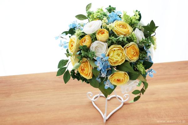 和紙の花オーダー品・ご結婚1周年記念に再現ブーケのプレゼント