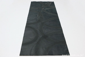 珪藻土を使った創作デザイン和紙 (2)