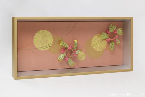 結納品のリメイクアートボックス「アレンジ自在なナチュラルテイスト立体額」 (4)