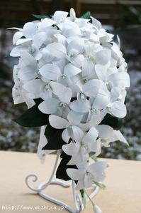 東京都S様(結婚1周年紙婚式のプレゼント、和紙ブーケ・花束) (1)