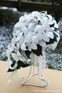 東京都S様(結婚1周年紙婚式のプレゼント、和紙ブーケ・花束) (3)