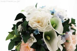 全て和紙で作られたトルコ桔梗ブーケ・花束 (トップ画像)