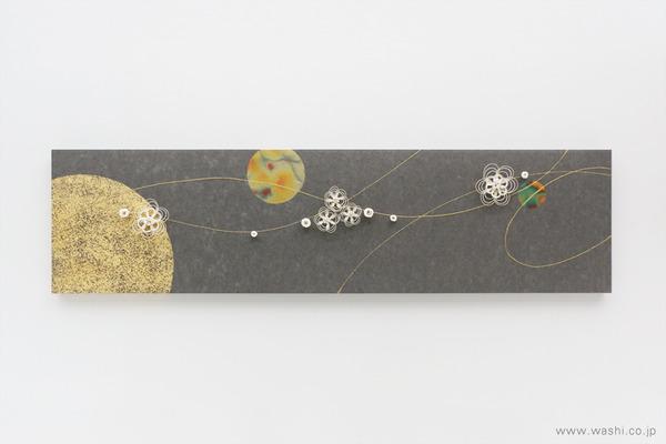 季節のうつろいを暮らしにも。モチーフで楽しむ和紙アートパネル (花水引)