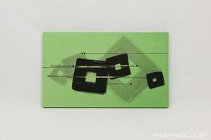結納品リメイク事例|グリーン色のリメイクパネル (5)