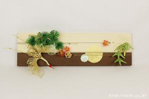 ツートンカラー(東京都N様の結納水引飾りリメイクパネル) (1)