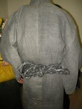 和紙着物(紙衣、紙布、和紙のしめ縄帯)