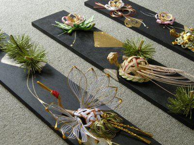 結納水引リメイク品(石川県T様)斜めアングル