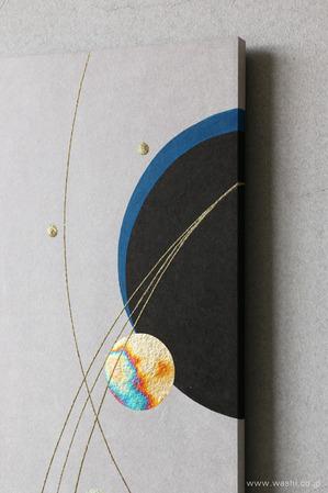 しっとりと落ち着いた雰囲気の結納品リメイクアートパネル (デザインアップ)