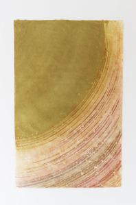楮紙を使用しているので染色の色合いも優しく出ています(創作和紙)