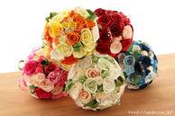 受注生産和紙ブーケ・花束(全5色)結婚1周年の紙婚式プレゼント