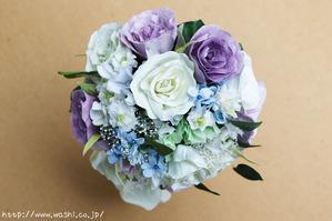 結婚1周年(紙婚式)千葉県W様オリジナル和紙ブーケ (3)