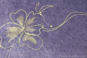 創作デザイン和紙1(花柄)アップ
