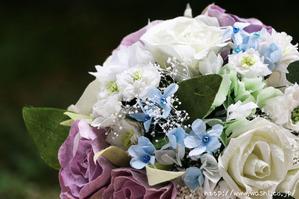 結婚1周年(紙婚式)千葉県W様オリジナル和紙ブーケ・花束 (2)