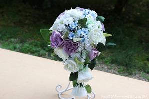結婚1周年(紙婚式)千葉県W様オリジナル和紙ブーケ (1)