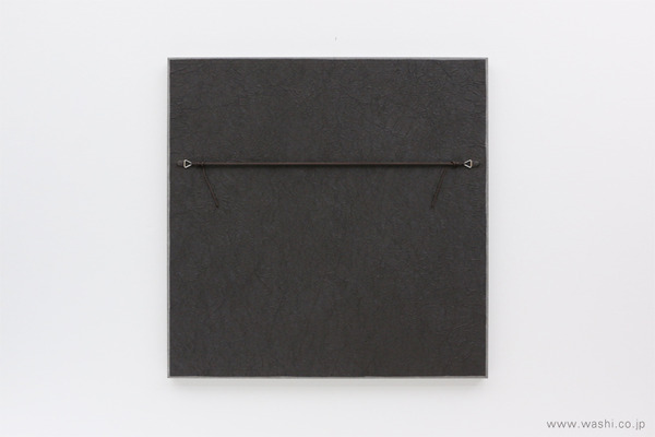 結納飾りをリメイクして3種類の角型アートパネルに (裏面)
