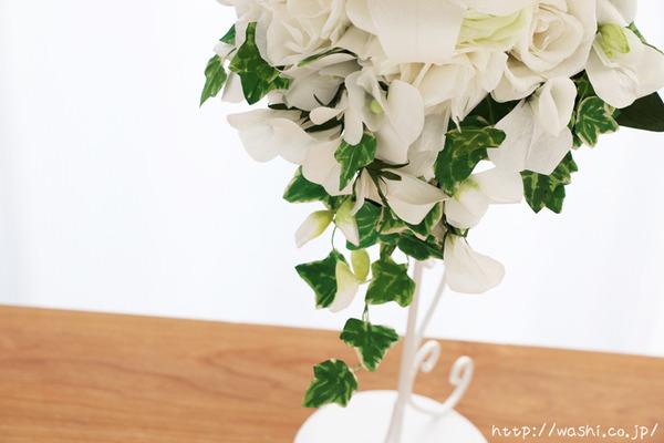 「結婚式の再現ブーケ」 結婚1周年 紙婚式に贈る和紙製の花束 (アイビー)