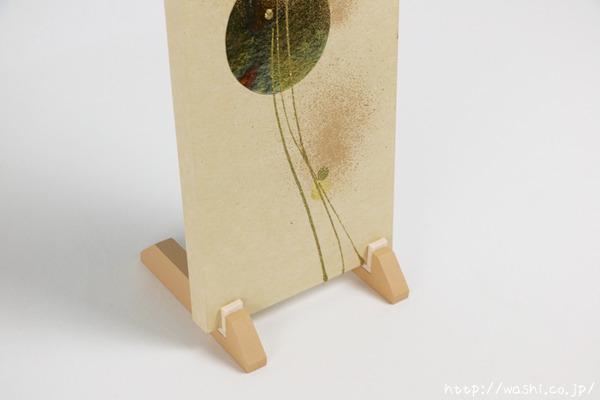 結納品リメイク「モダンなアートパネル」 (縦向き立て掛け)