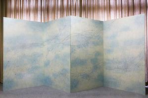 リバーシブル和紙屏風 (1)