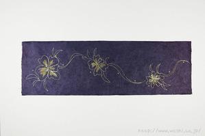 創作デザイン和紙1(花柄)