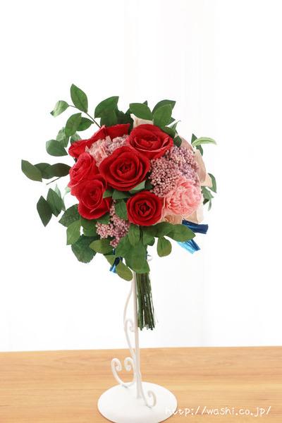 紙婚式オーダーメイドギフトの和紙ブーケ・花束 (5)