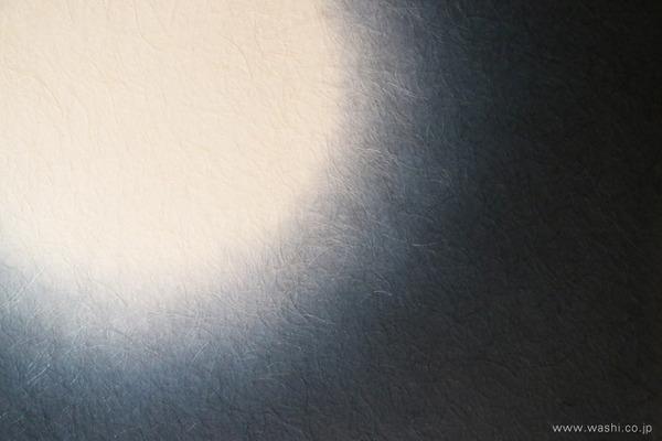 ゆるやかな時間を過ごせる 群青色の和紙アートパネル−Washi(Japanese Paper) Modern Wall Art Panel (如月の間、パネルデザインアップ)