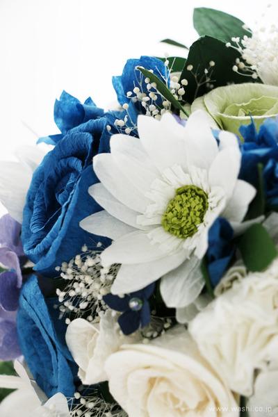紙婚式記念日に贈る、心のこもった和紙製オーダーメイドフラワー (ガーベラ)