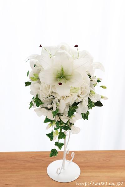 「結婚式の再現ブーケ」 結婚1周年 紙婚式に贈る和紙製の花束 (正面)