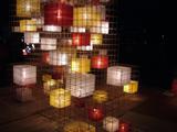 光のオブジェ(金澤 夕暮祭り2007)