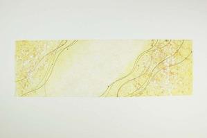 黄系統の創作和紙