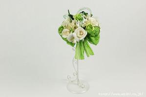 結婚1周年(紙婚式)のプレゼントにオススメの和紙ブーケ・花束(白)