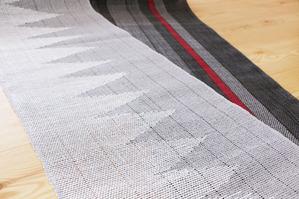 紙糸の織物(諸紙布)和紙の糸