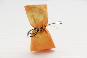 バレンタインラッピング 小袋を包むタイプ