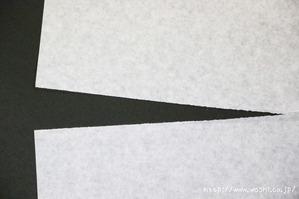 洋紙(繊維が短い為でない)