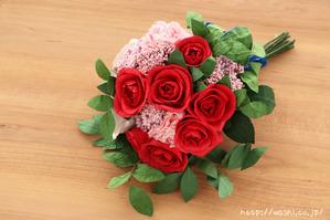 紙婚式オーダーメイドギフトの和紙ブーケ・花束 (4)